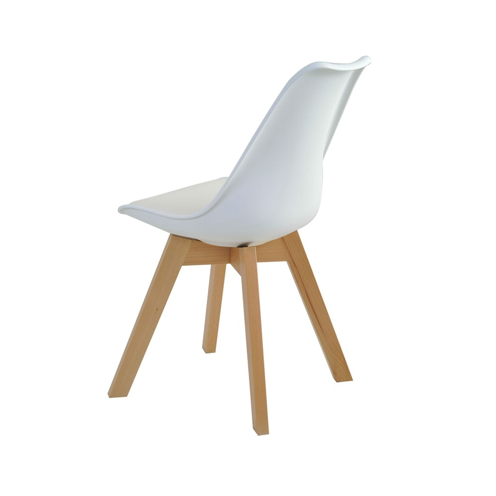 Cadeira Leda Base Madeira Rivatti