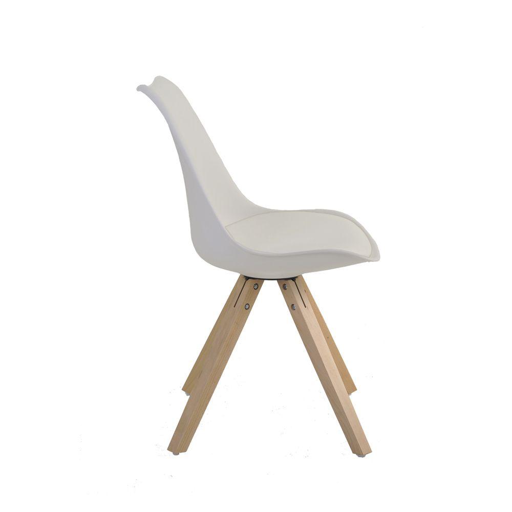 Cadeira Lígia Base Madeira Rivatti