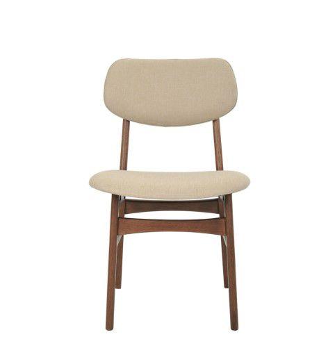 Cadeira Linha Escandinava Erica Com Encosto Estofado Rivatti