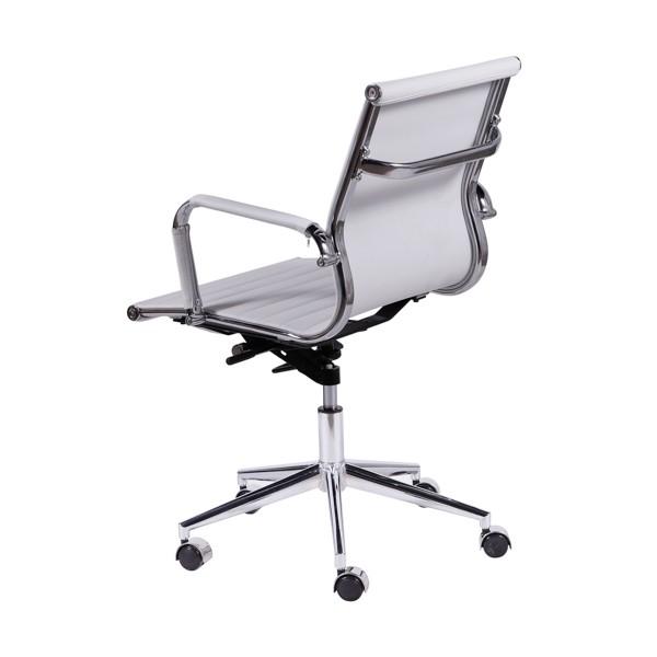 Cadeira Office Baixa PU OR-3301 OR Design