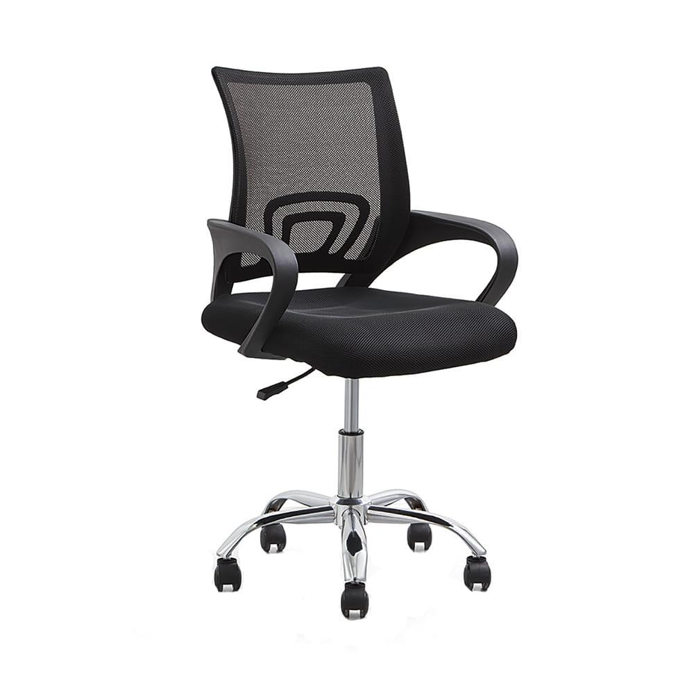 Cadeira Office Santiago Base Cromada Rivatti