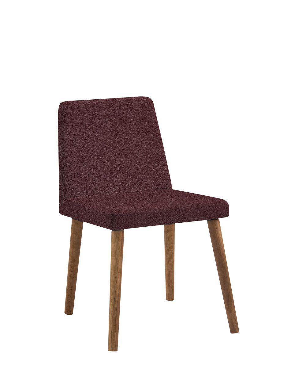 Cadeira Pri Marsala Tecido Linho DAF