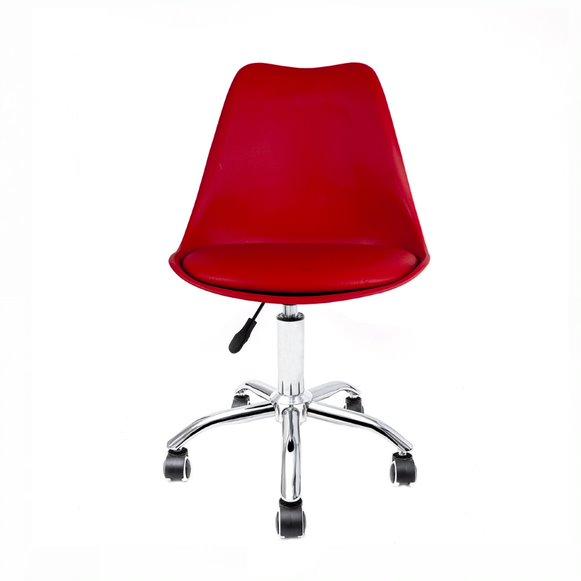 Cadeira Saarinen PP Base Office Aço Cromado