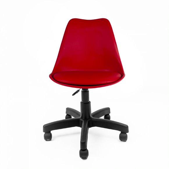 Cadeira Saarinen PP Base Office Polipropileno cor Preto