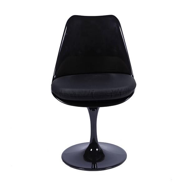 Cadeira Saarinen Preta Almofada de Diversas Cores OR Design