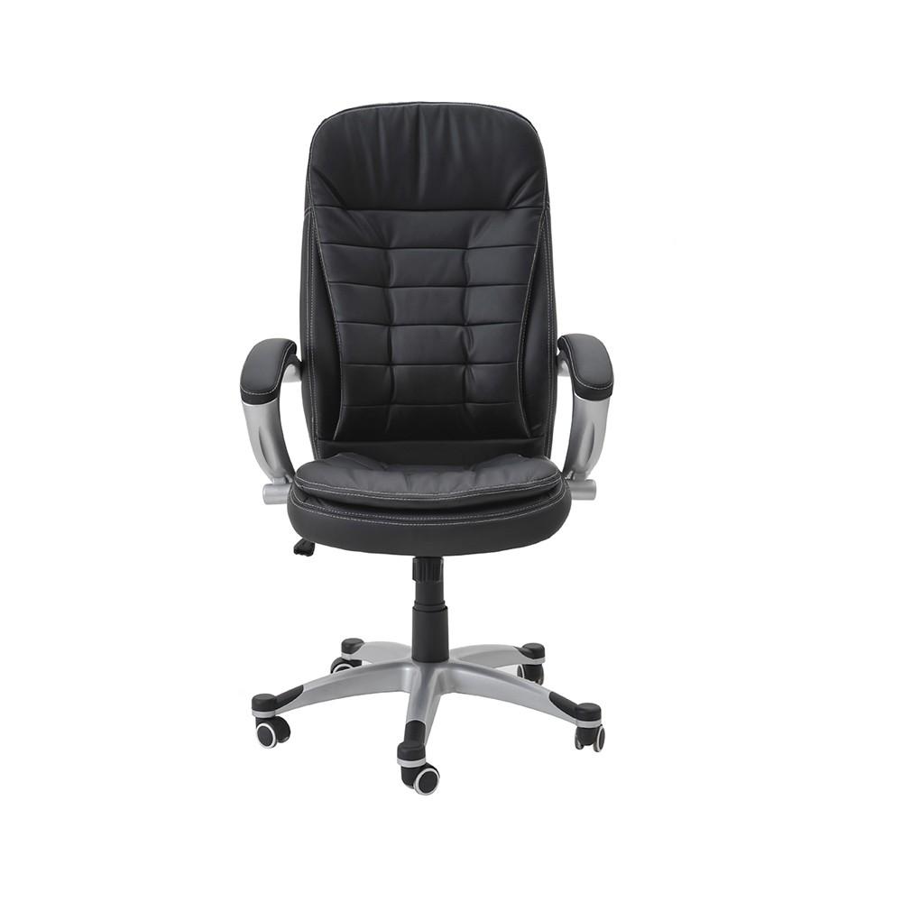 Cadeira Segóvia PU Preto Rivatti