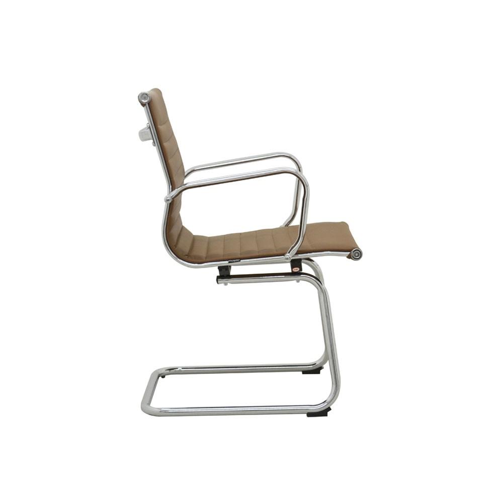 Cadeira Sevilha Fixa Baixa PU Rivatti