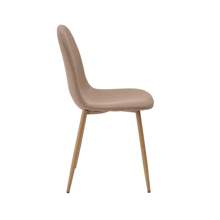 Cadeira Tânia Tecido Base Metal Rivatti