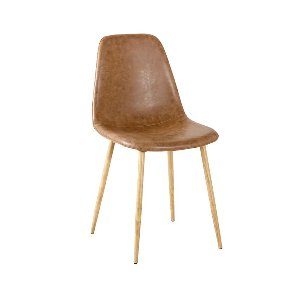 Cadeira Tânia PU Vintage Rivatti