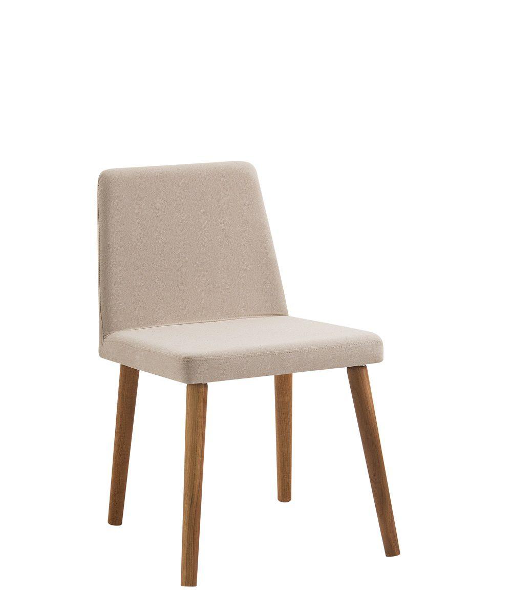 Cadeira Vega Bege Tecido Lona DAF