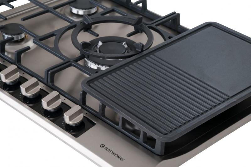 Chapa Bistequeira para Cooktop Elettromec