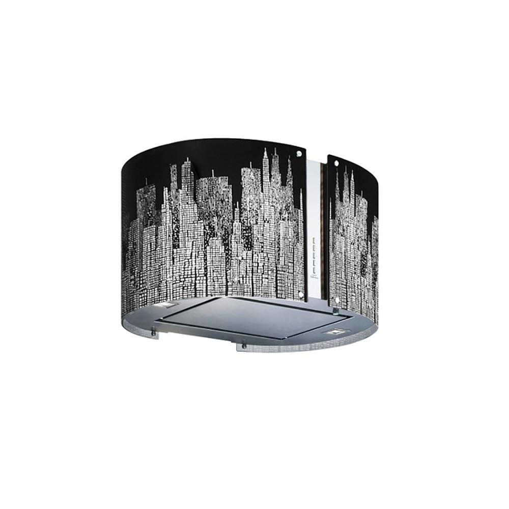 Coifa Ilha Mirabilia Round Manhattan 67 cm Falmec