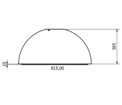 Coifa Ilha WD 75.9 Branca 90cm Crissair