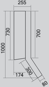 Coifa Rialto Parede 55 cm Falmec
