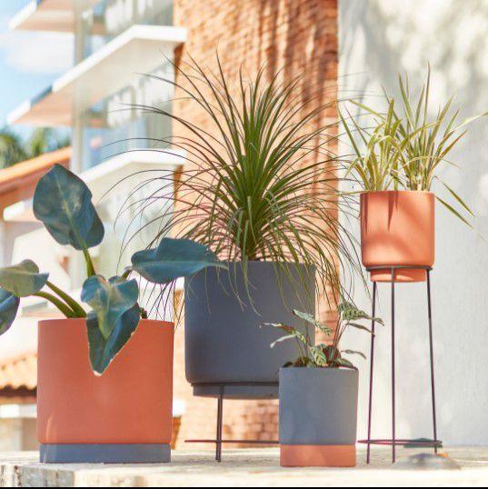 Composição de Vasos Cumbuca Alongada