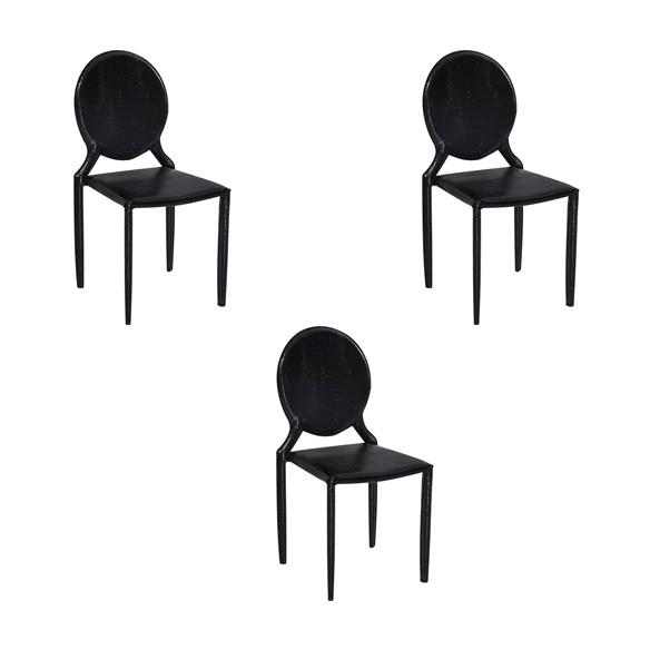 Cadeira Amanda Medalhão Crocco Rivatti 3 Und