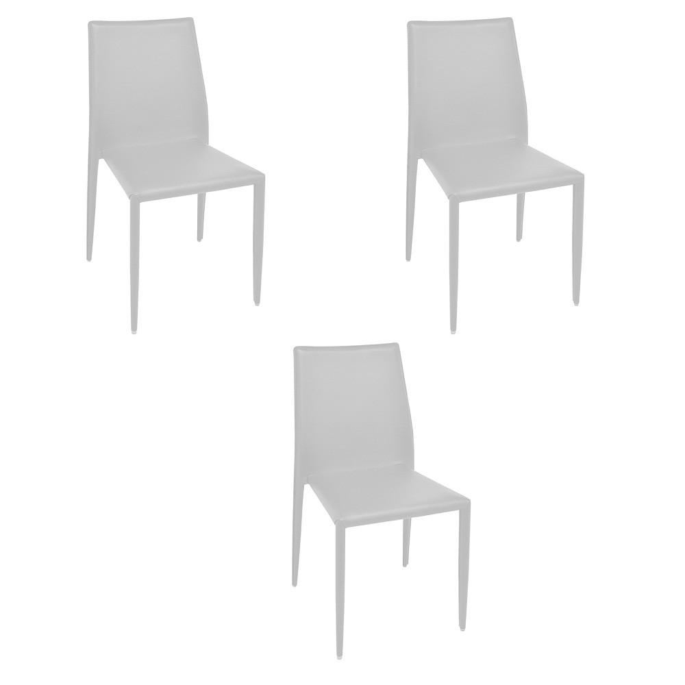 Cadeira Amanda PVC Rivatti 3 Und