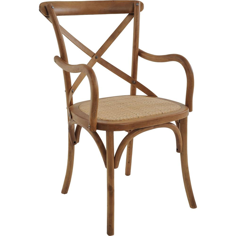 Cadeira Katrina Com Braço Bétula Rivatti 3 Und
