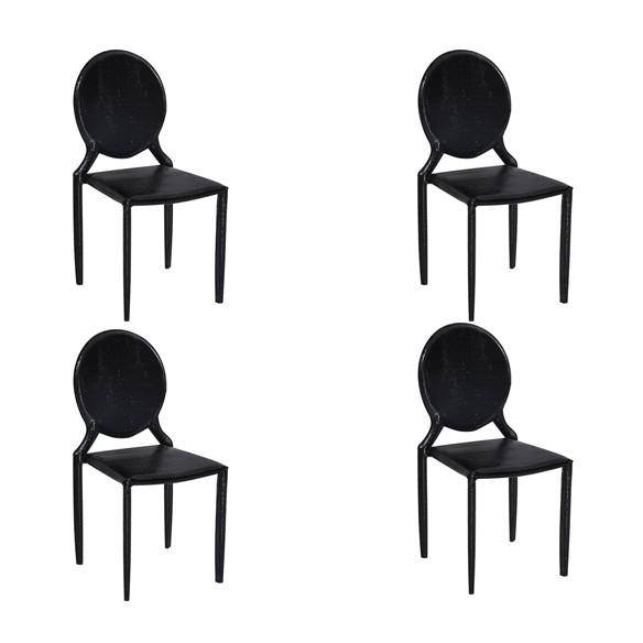 Cadeira Amanda Medalhão Crocco Rivatti 4 Und