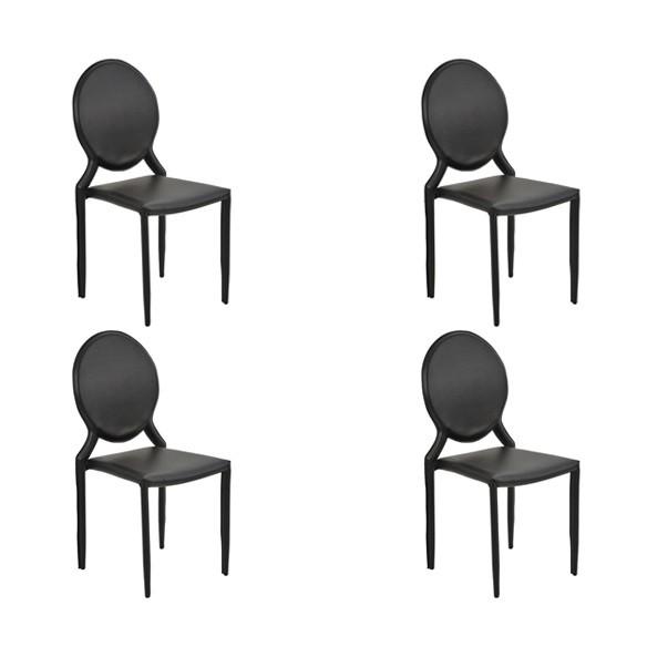 Cadeira Amanda Medalhão Rivatti 4 Und
