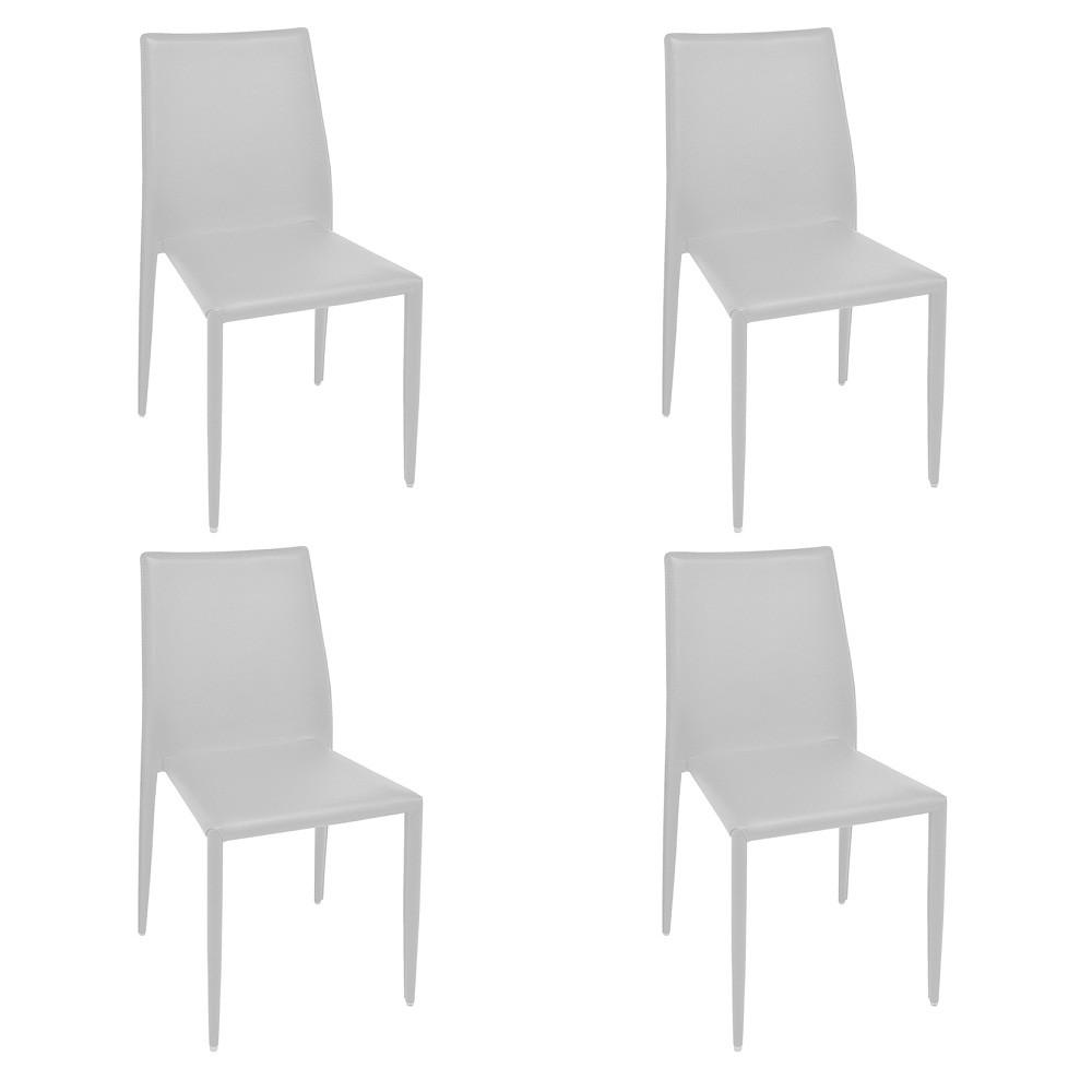 Cadeira Amanda PVC Rivatti 4 Und