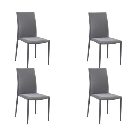 Cadeira Amanda Tecido Rivatti 4 Und