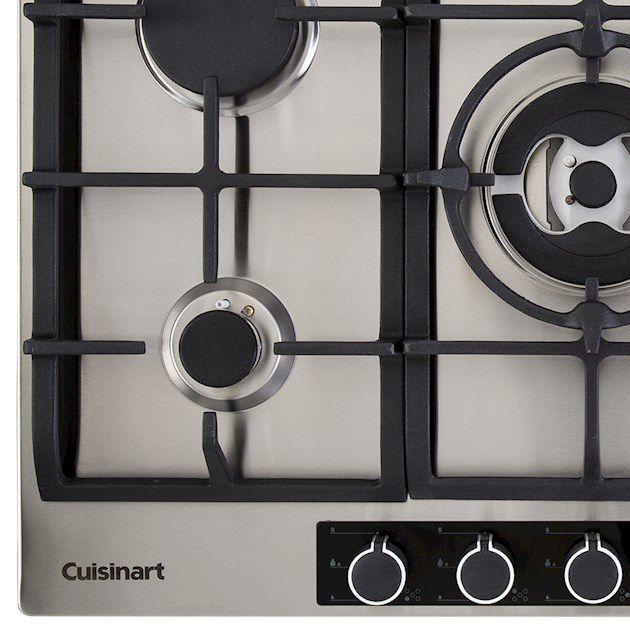 Cooktop A Gás 5 Queimadores 75cm Cuisinart Casual Cooking