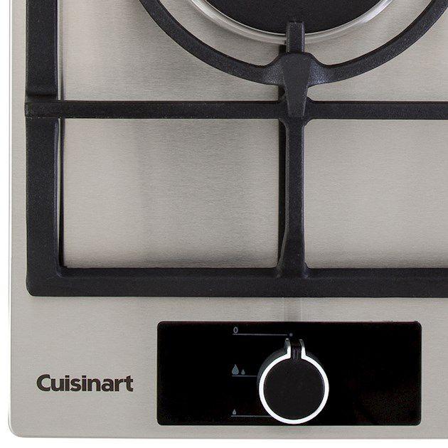 Dominó A Gás 1 Queimador Tripla Chama 30cm Cuisinart Casual Cooking