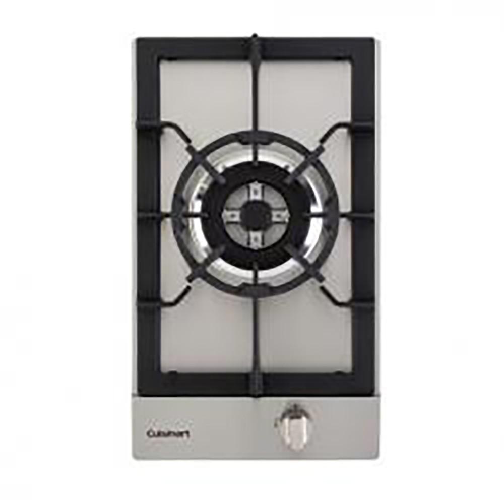 Cooktop Dominó A Gás 1 Queimador Tripla Chama 30cm Cuisinart Prime Cooking