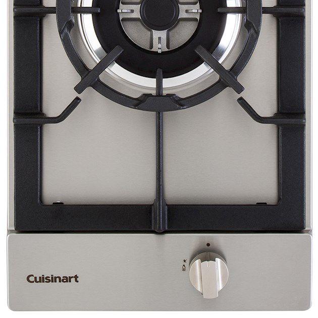 Dominó A Gás 1 Queimador Tripla Chama 30cm Cuisinart Prime Cooking