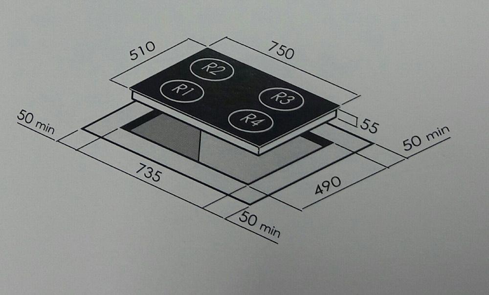 Cooktop Vitrocerâmico Elétrico 4 Queimadores CCV 45 G3 Crissair