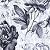 Estampa Floral Cinza