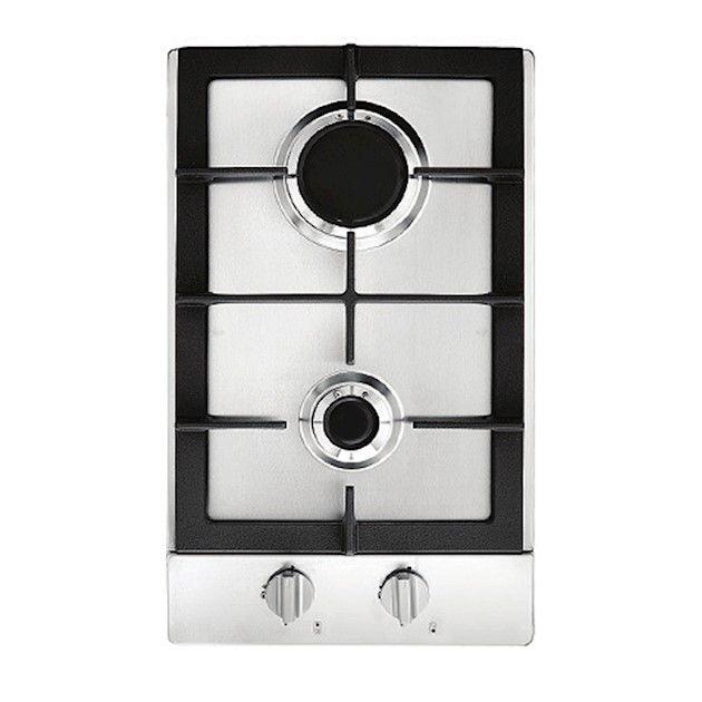 Dominó A Gás 2 Queimadores Inox 30 cm Linha Prime Cooking Cuisinart