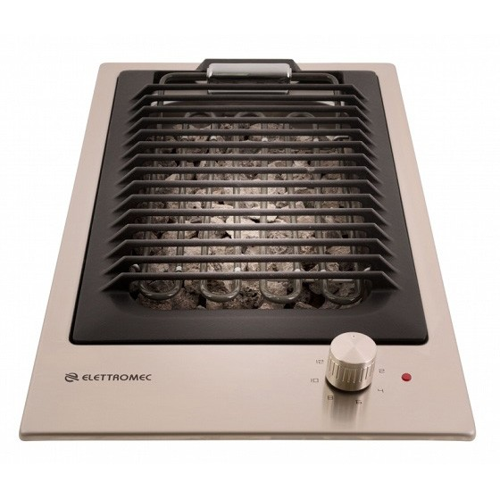 Cooktop Dominó Quadratto Barbecue Elettromec