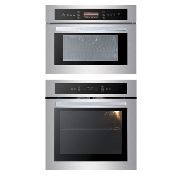 Forno Sole Multifunção Digital 60 cm E Micro-ondas Sole 40 Litros Built-in Elettromec