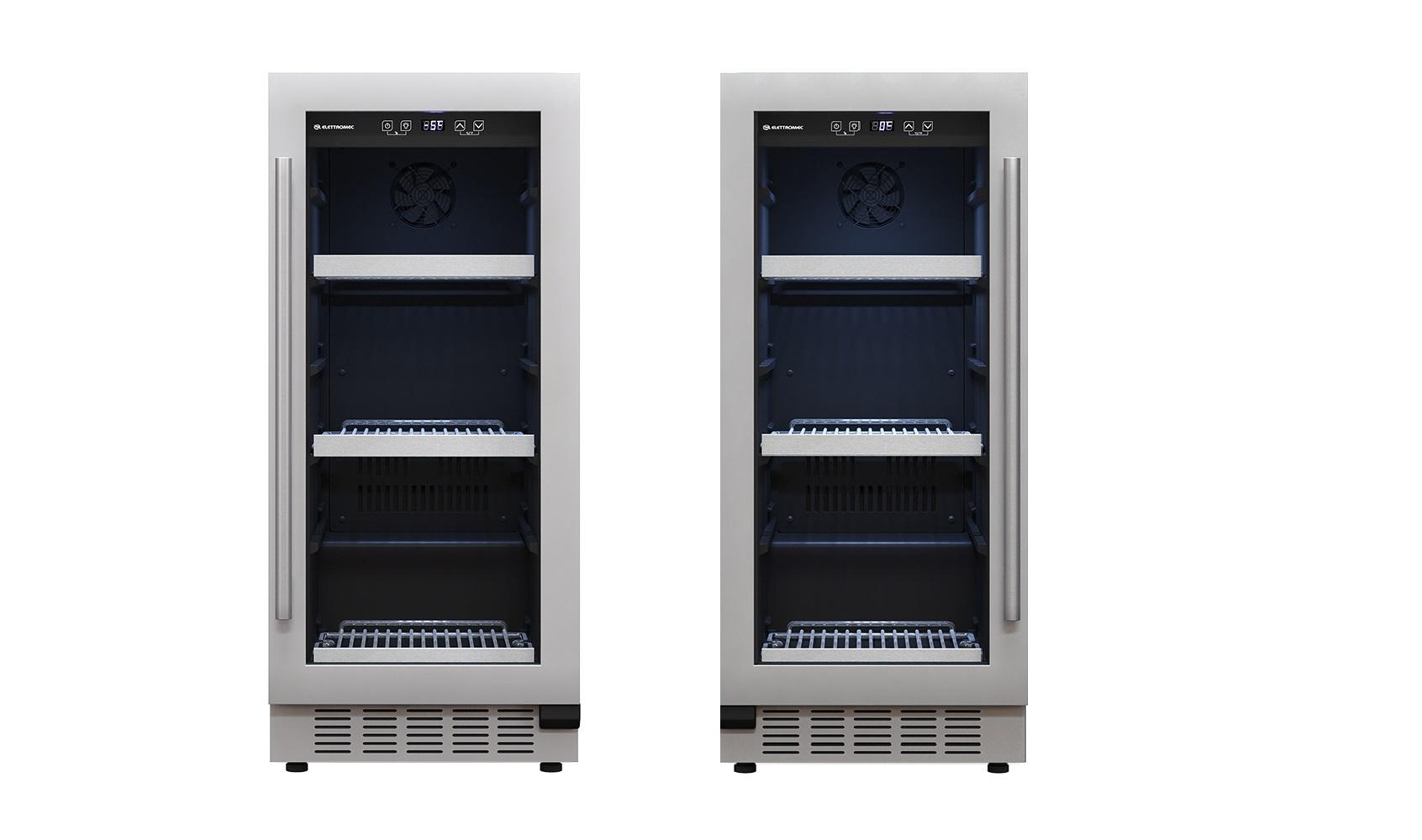 Kit Sommelier Beer Center 86 Litros e Frigobar 86 Litros Built-In Eletttromec
