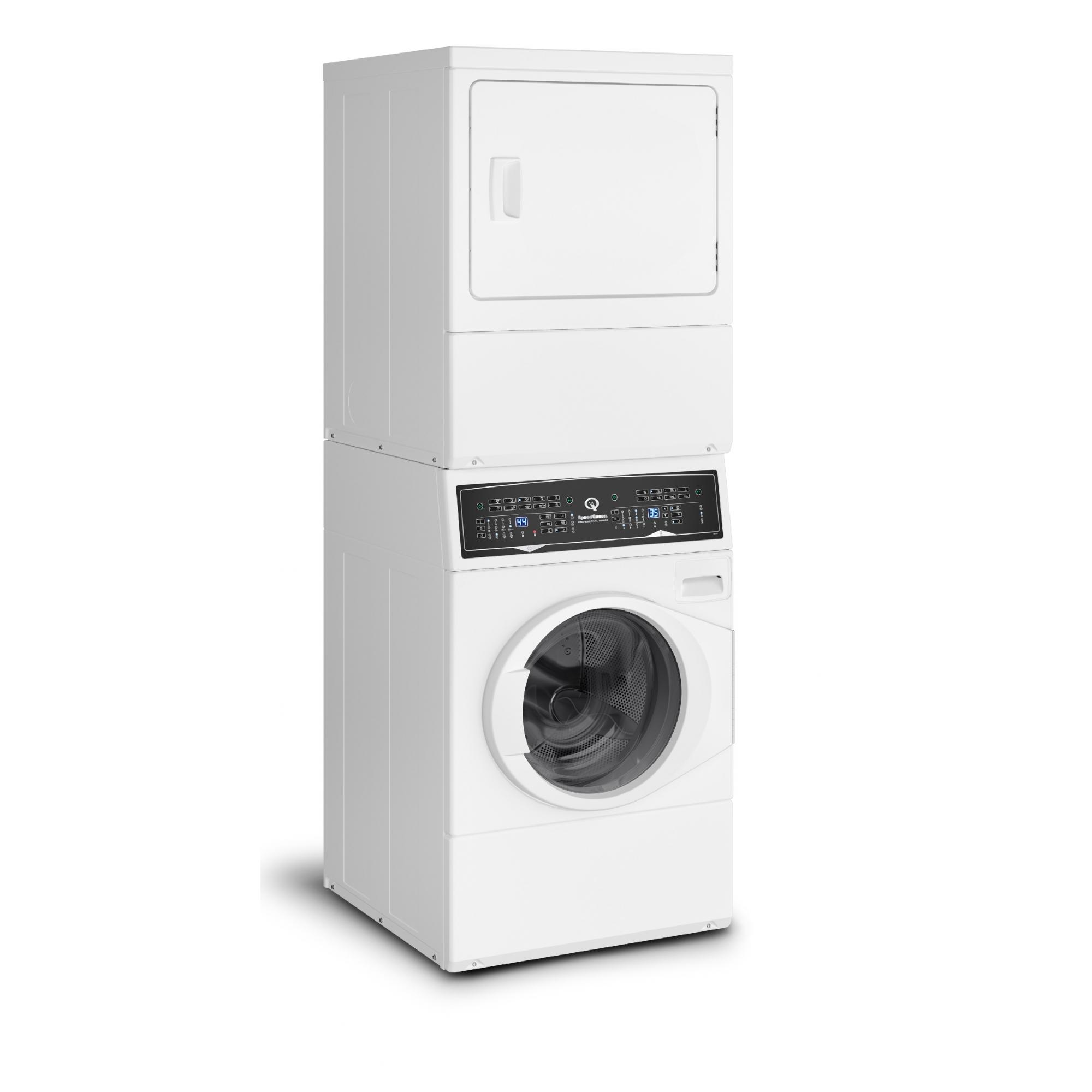 Lavadora e Secadora Elétrica de Roupas Speed Queen 10,5 Kg Branca
