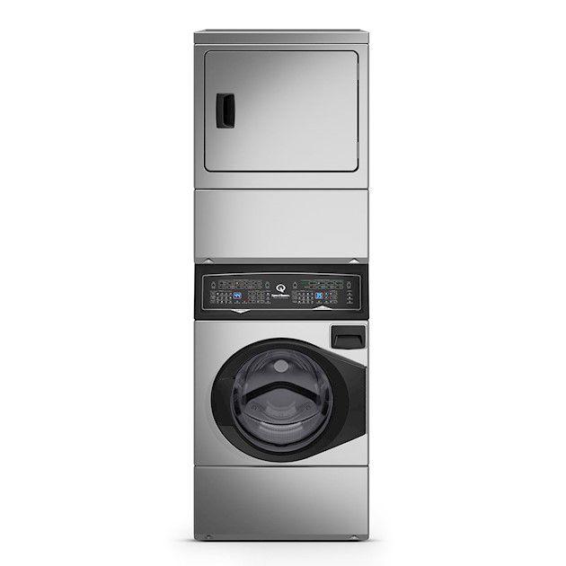 Lavadora e Secadora Elétrica de Roupas Speed Queen 10,5 Kg Inox 220V