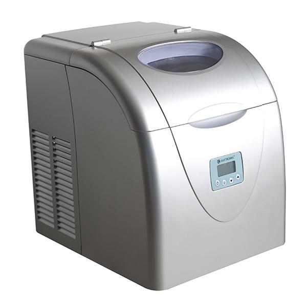 Máquina de Gelo Portátil Prata Elettromec