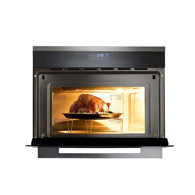Micro-ondas Forno e Grill Elétrico 60cm 35 Litros Cuisinart Prime Cooking