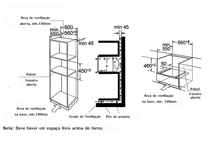 Microondas de embutir CFM 94 G3 Crissair