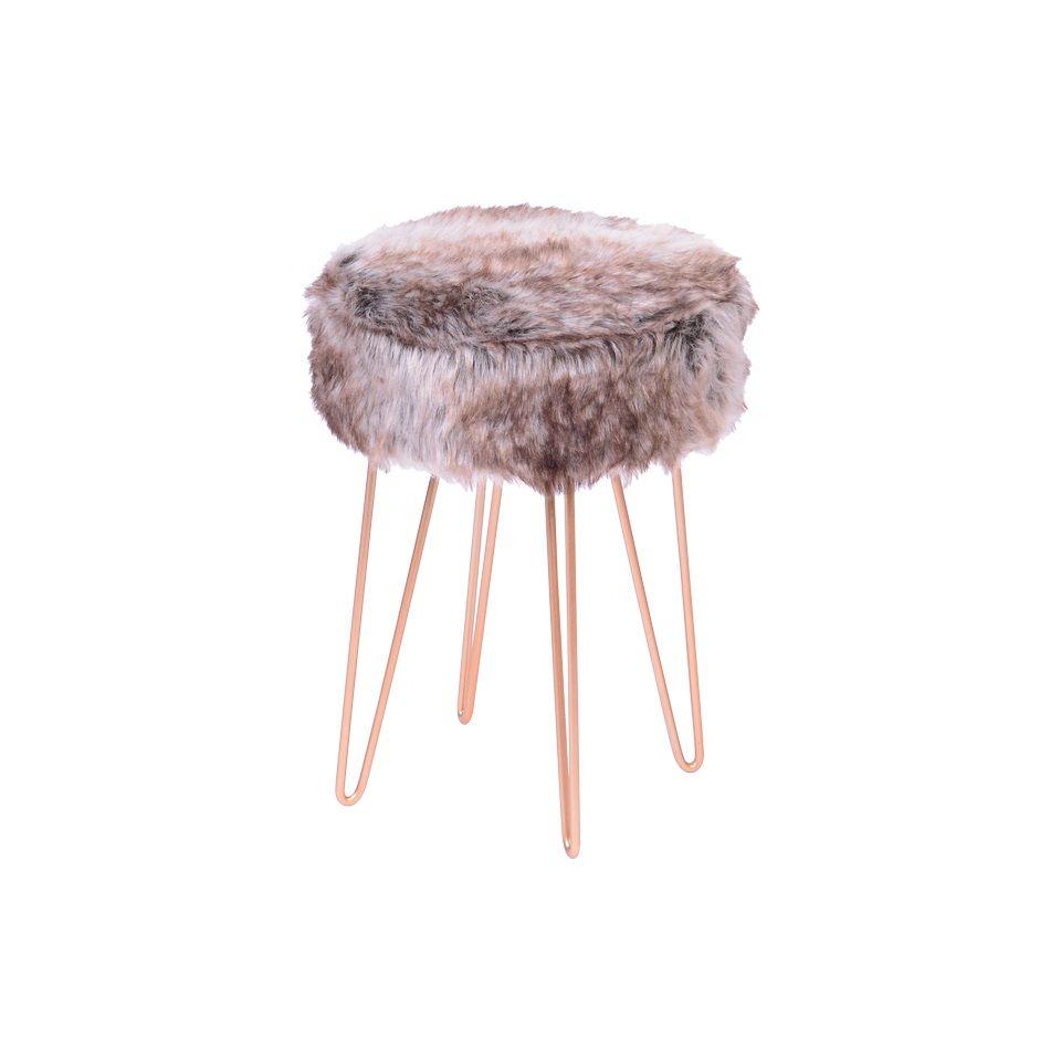 Puff Glamour Base Metal Cobre OR Design