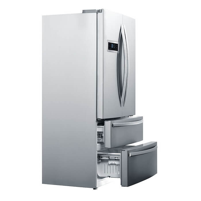 Refrigerador French Door Inox RFD 01 Crissair