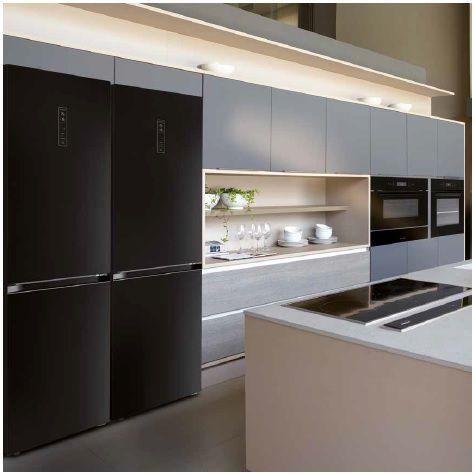 Refrigerador Vetro Bottom Freezer 317 Litros Elettromec