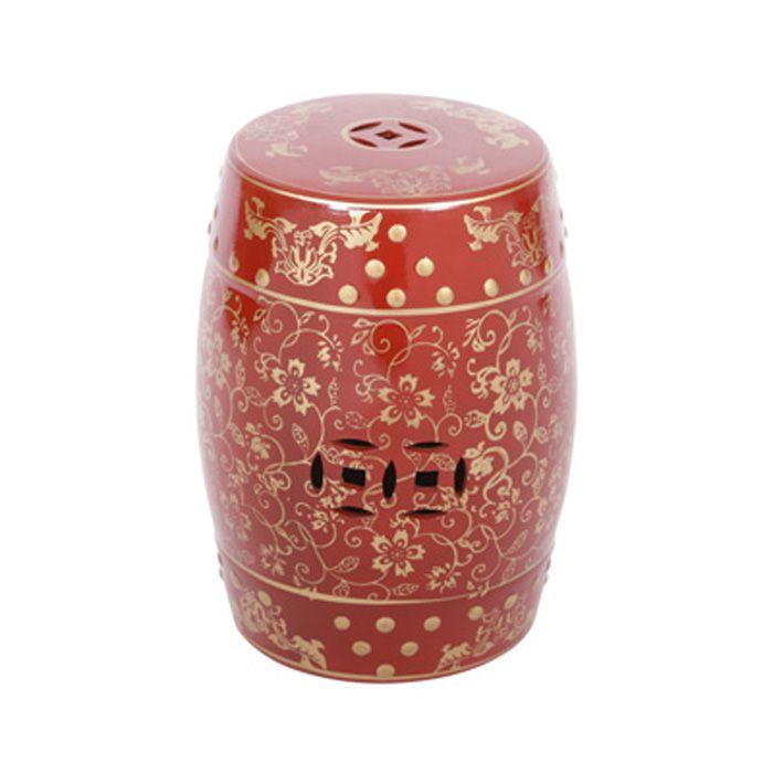 Seat Garden Cerâmica Chinesa OR-6613 Or Design