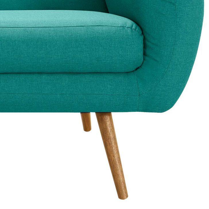 Sofá Beatle Color Trends 3 Lugares Linho Verde Menta DAF