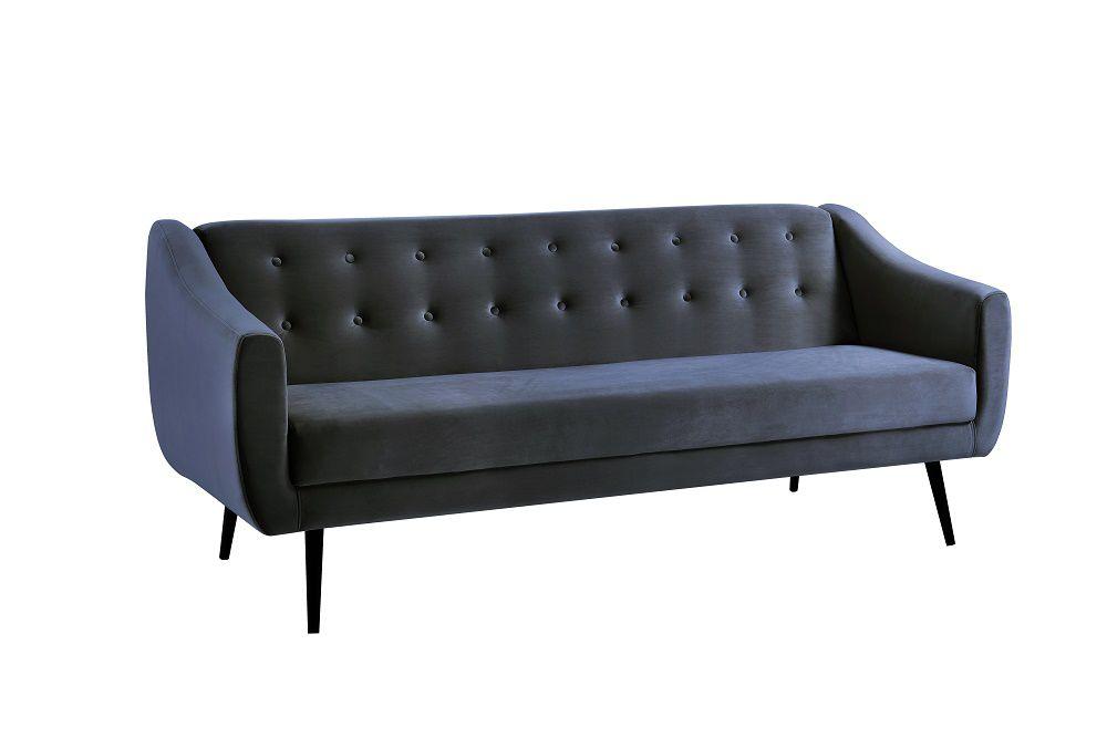 Sofa Cama Mimo Azul Marinho Tecido Veludo