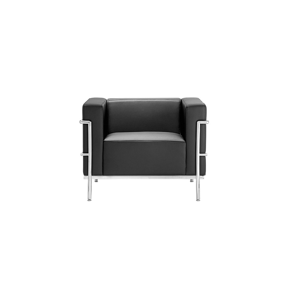 Sofá Le Corbusier 1 Lugar Rivatti