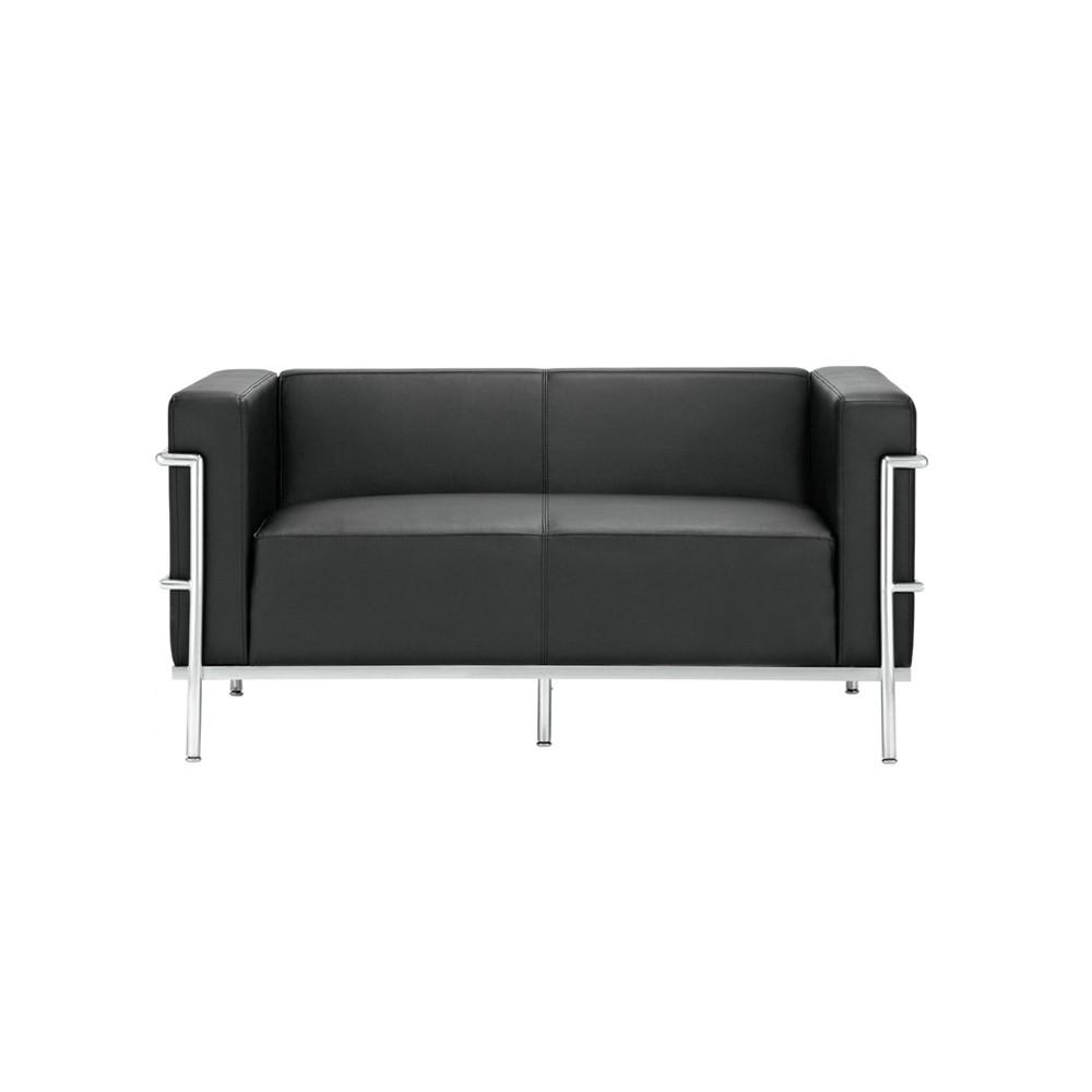 Sofá Le Corbusier 2 Lugares Rivatti