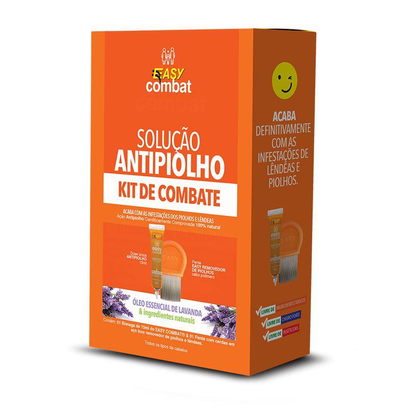 Kit de combate - 2 em 1 (dose única + pente)